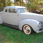 Chopped 1940 Ford Deluxe Coupe For Sale The H A M B