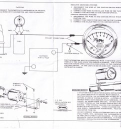 Faria Tach Wiring - Wiring Diagrams Schema on