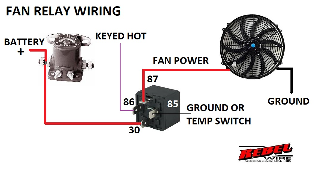 You Can Use Either Relay For This Purpose Here Are The Relay S Wiring