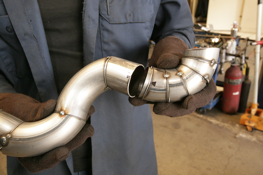 technical exhaust pipe weld sleeves
