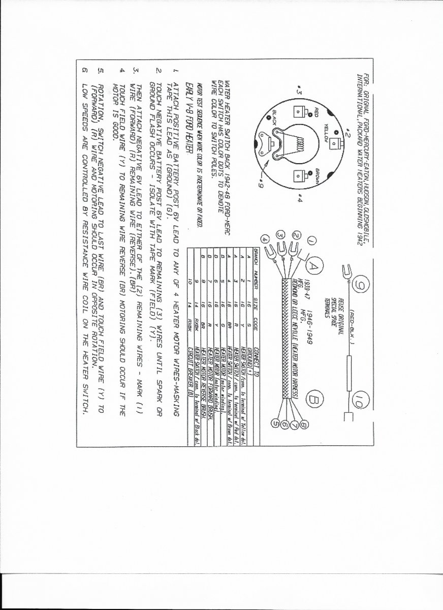 hight resolution of technical 1940 deluxe wiring the h a m b ford car wiring diagrams 1940 ford heater wiring diagram