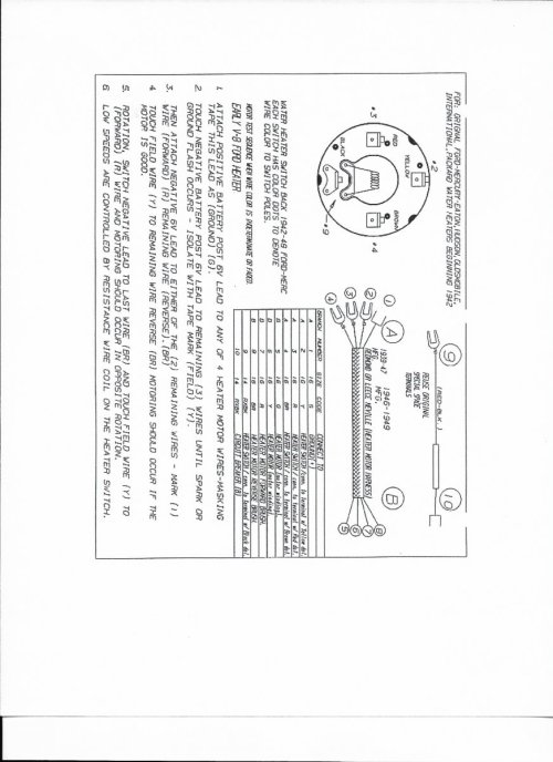 small resolution of technical 1940 deluxe wiring the h a m b ford car wiring diagrams 1940 ford heater wiring diagram