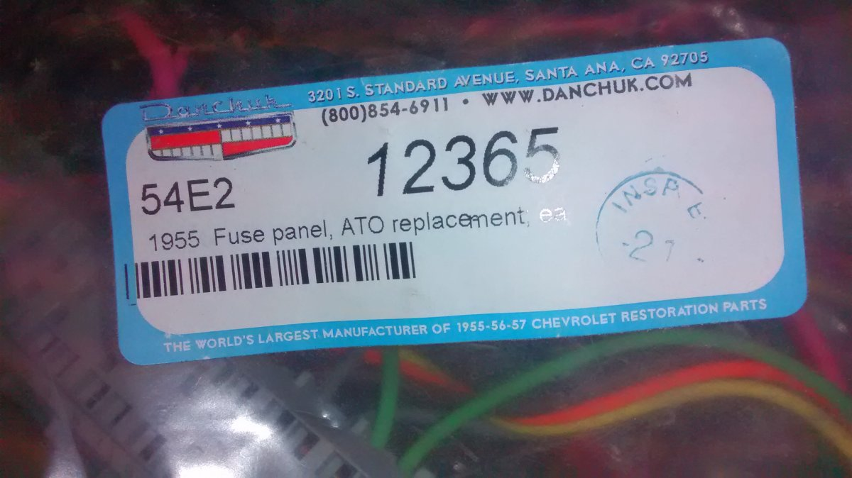 hight resolution of fuse box upgrade 66 mustang 27 wiring diagram images wiring 66 ranchero fuses 57 chevy fuse
