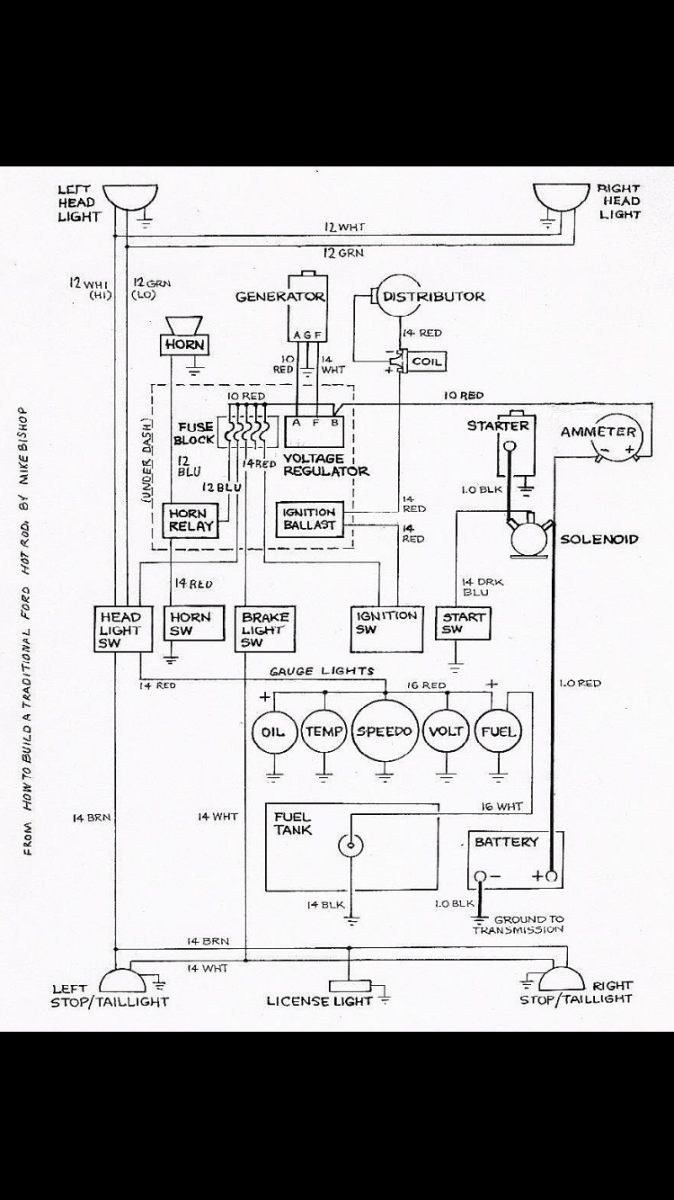 hight resolution of hot rods 302 ignition wiring the h a m b wiring diagram for pertronix flamethrower distributor the hamb