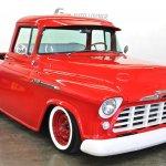 1956 Chevy 3100 Big Window Pickup Fresh Restoration Ifs Disc Power Steering The H A M B