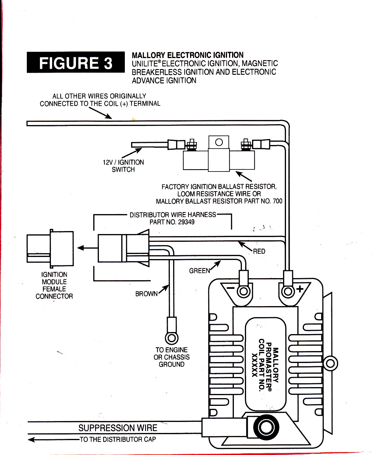 mallory ignition wiring diagram beetle 1972 electronic 27 images