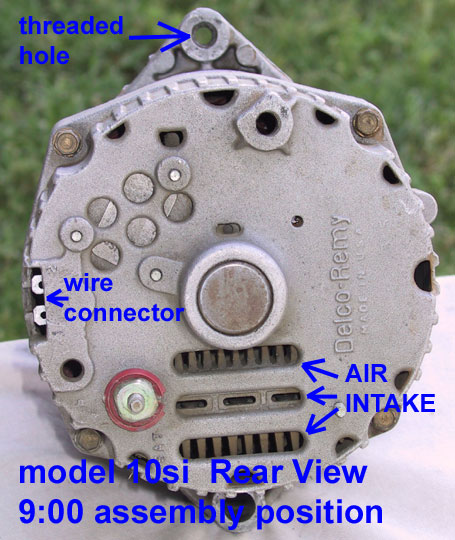 One Wire Alternator Wiring Diagram 3 Wire Delco Remy Alternator Wiring