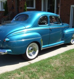 1946 ford coupe rust free original body street rod the h a m b sedan coupe 1946 ford super delux wiring harness for 1946 ford coupe sedan [ 2848 x 2136 Pixel ]