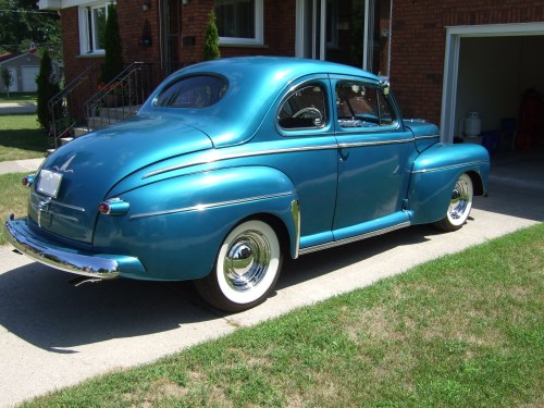 small resolution of 1946 ford coupe rust free original body street rod the h a m b sedan coupe 1946 ford super delux wiring harness for 1946 ford coupe sedan