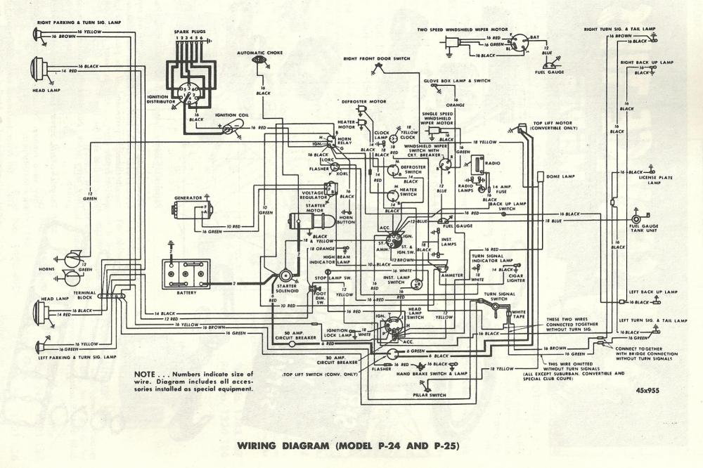 medium resolution of 1952 plymouth wiring harness wiring diagram sys plymouth duster wiring harness 1952 plymouth wiring harness wiring