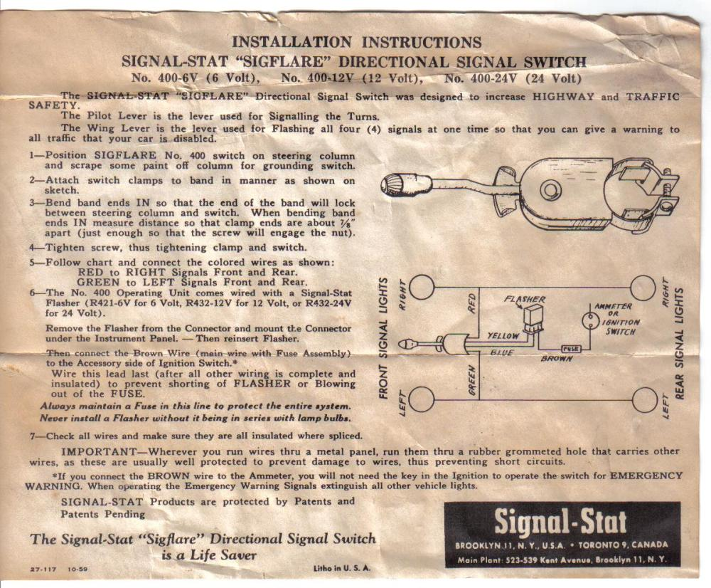 medium resolution of vsm turn signal wiring diagram vsm image wiring diagram for signal stat 900 wiring auto wiring