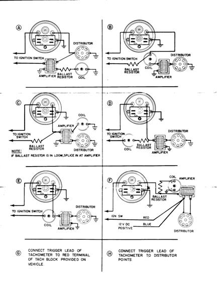 Vintage Sun Tachometer Wiring Diagram Sun Tachometers