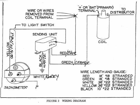 stewart warner gauges wiring diagrams diagram cell labeled animal tachometer - somurich.com