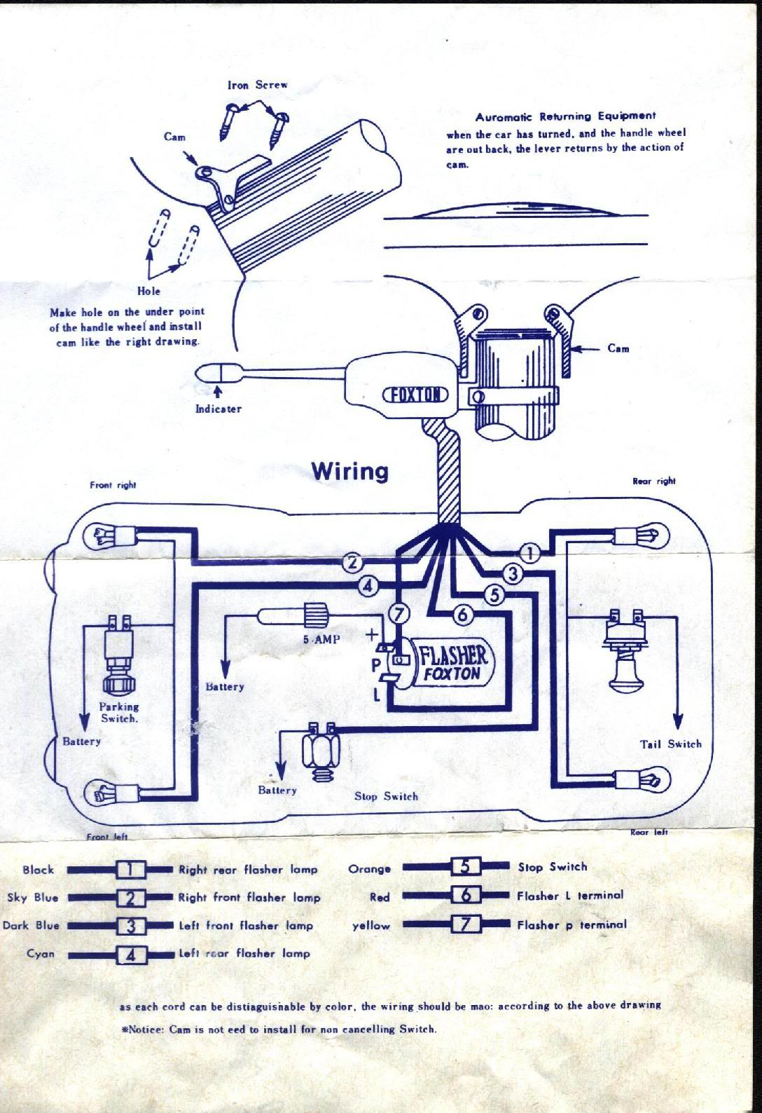 hight resolution of turn signal switch wiring diagram collection universal turn signal