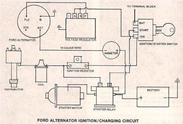 D Ways Bypass Resistor Wire Ignit besides C E additionally D Installing G Alternator Mustang Help Ginstall together with Ammeter together with Full. on 66 mustang amp gauge wiring diagram