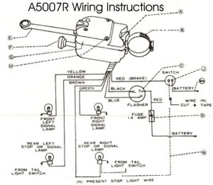Technical  Wiring issues brake and turn signal | The HAMB