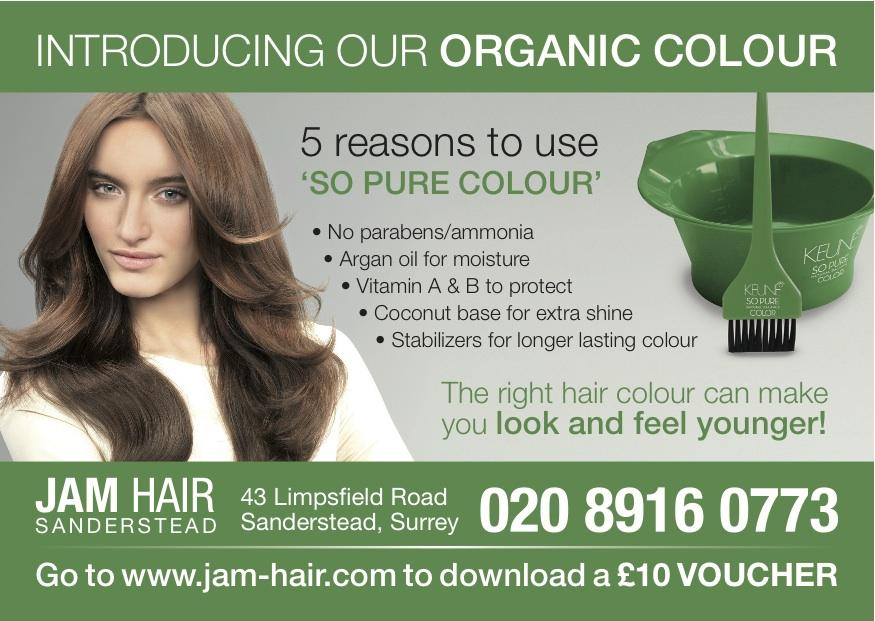 Keune Organic Hair Colour At Jam Hair Salon Croydon