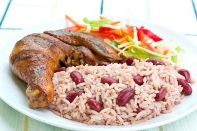 Image result for jamaican rice and peas