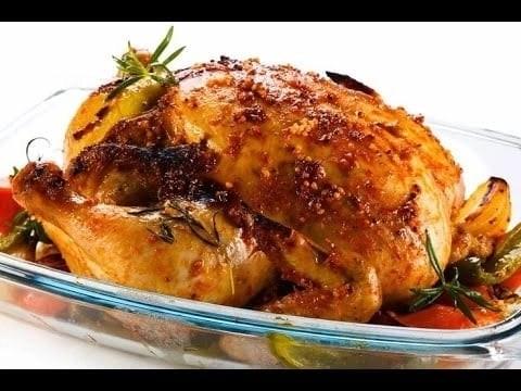 Jamaican roast chicken menu