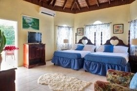 Jamaica villas bedrooms