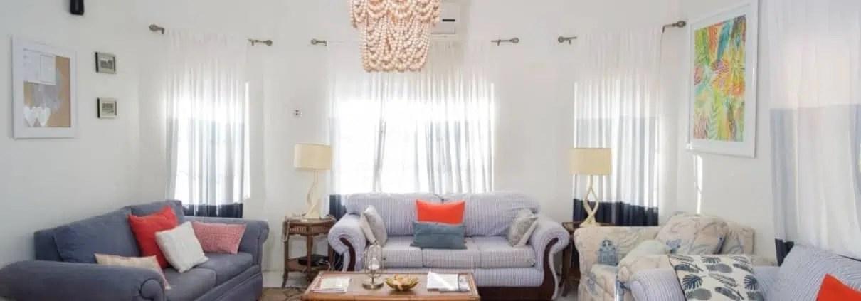 Jamaica villas living room