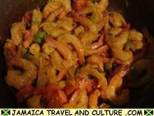 Curry Shrimp - Adding the shrimp