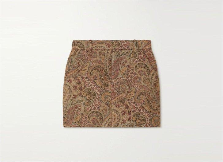 Etro Mini skirt Mini skirt Mini skirt تنورة ملابس الخريف 2021