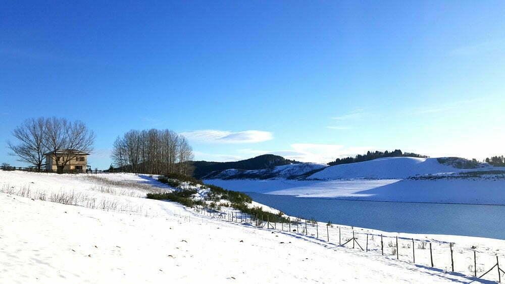 Sila in inverno - Lago del Passante