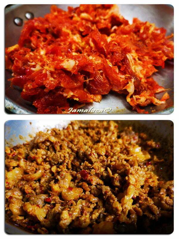 Maiale in tavola - carne per salsiccia