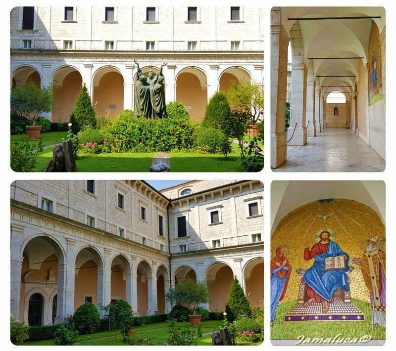 Abbazia di Montecassino - Chiostro d'ingresso