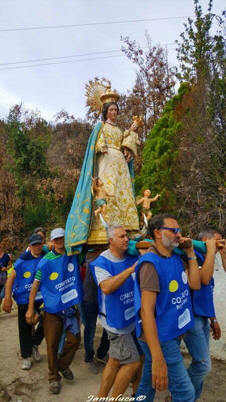 Festa della Madonna di Termine - Processione sui colli