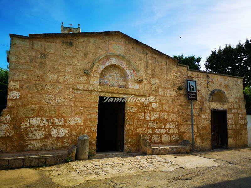 Chiesa di Santa Maria di Gallana - Oria