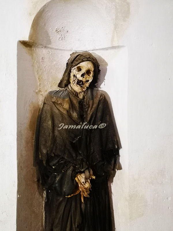 Cripta delle mummie a Oria