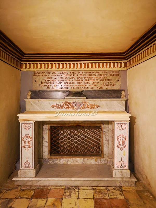 Oria - Cripta di San Barsanofio