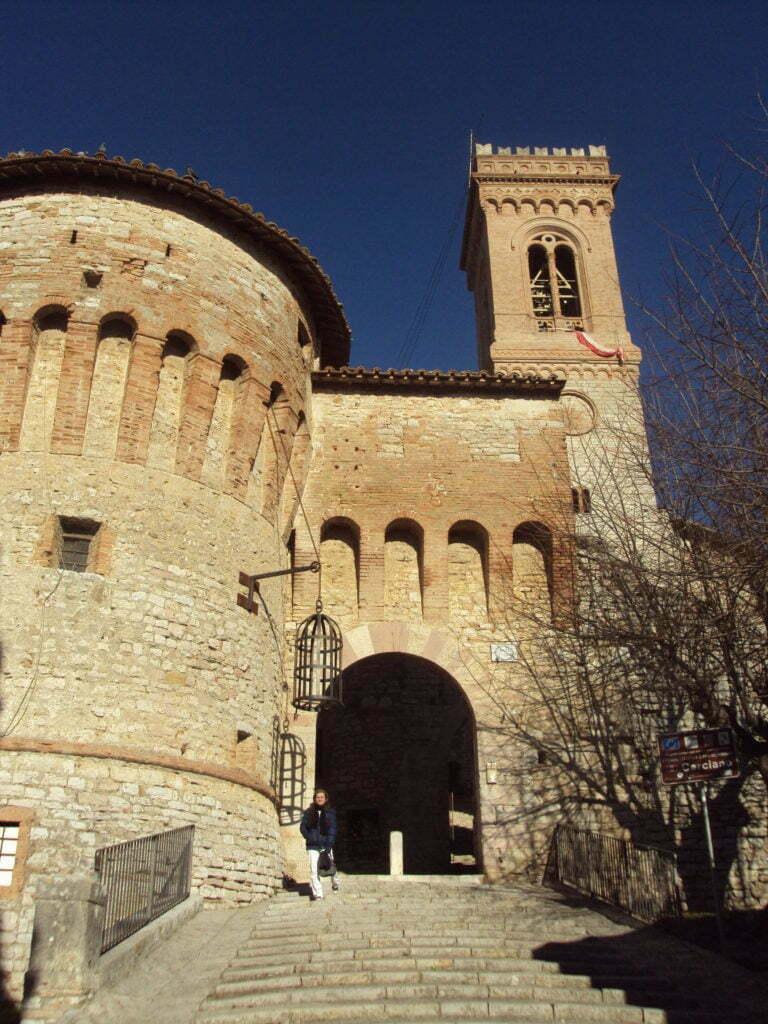 Corciano borgo più bello d'italia in Umbria