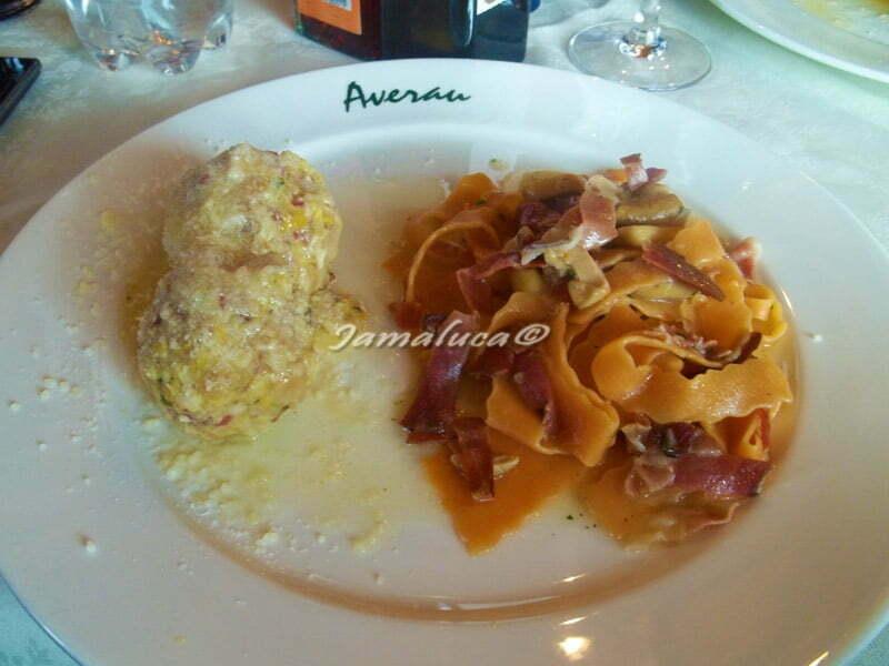 Pranzo al Rifugio Averau Dolomiti