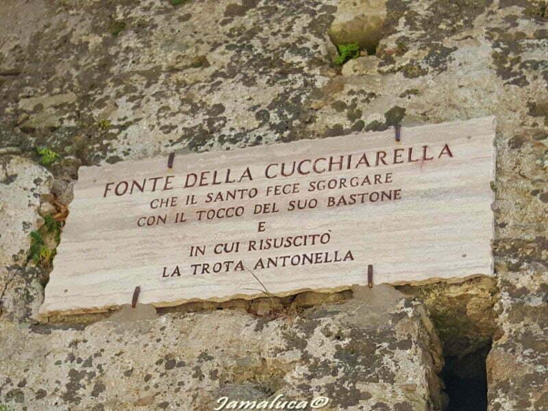Fonte della cucchiarella Santuario San Francesco da Paola