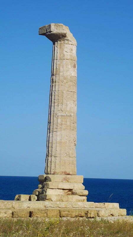 Colonna Tempio di Hera Lacinia