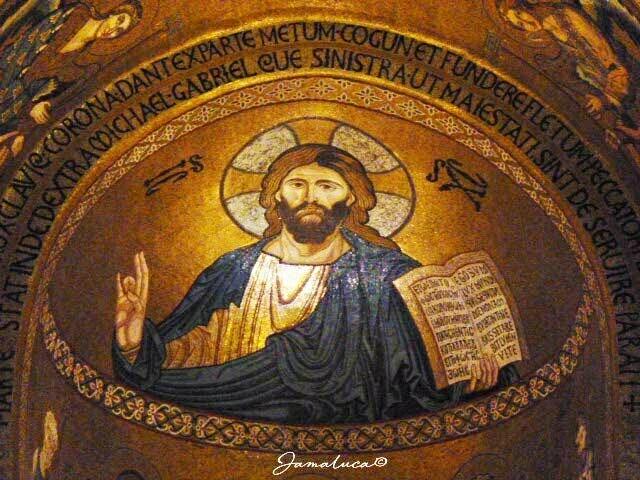 Cappella Palatina - Cristo Pantocratore