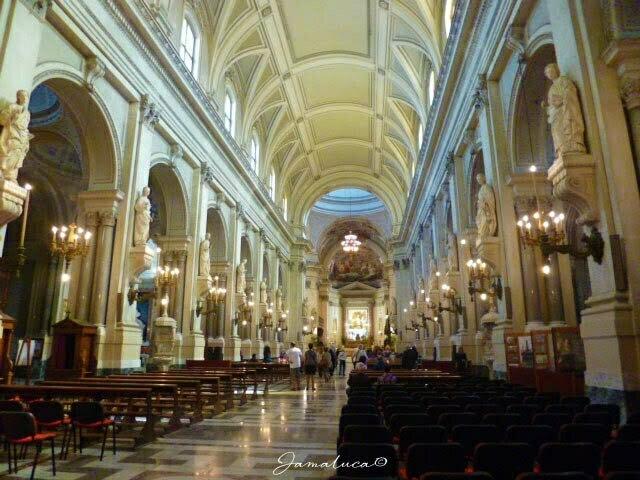 Cattedrale di Palermo - Navata centrale
