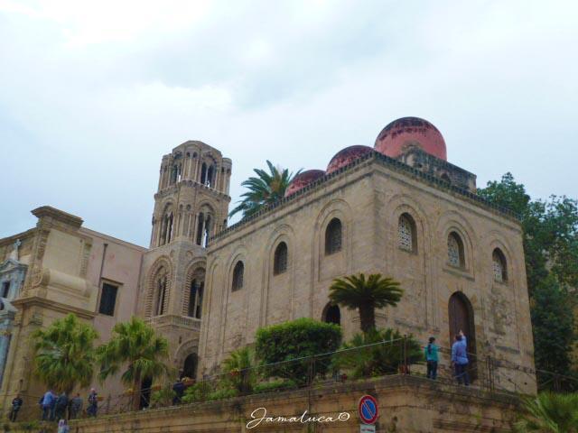 Kalsa Piazza Bellini Chiesa Martorana e San Cataldo