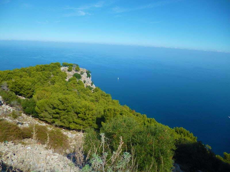 Monte Pellegrino vista panoramica