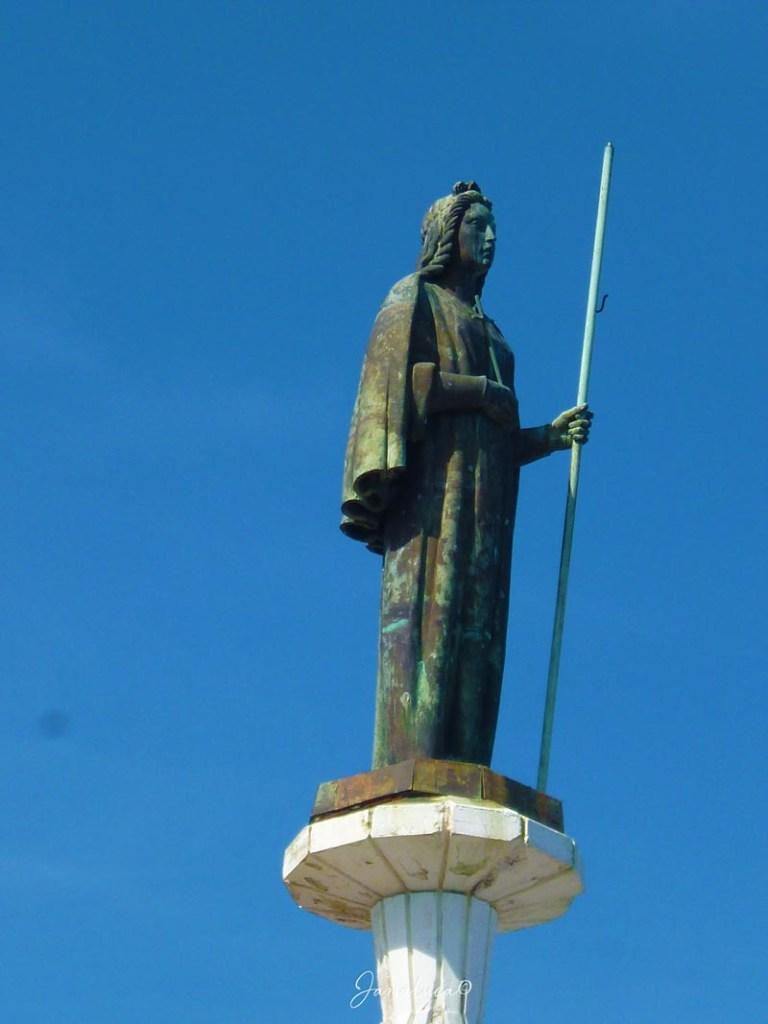 Santa Rosalia statua Monte Pellegrino
