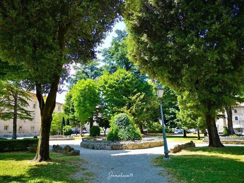 Piazza 40 martiri Gubbio