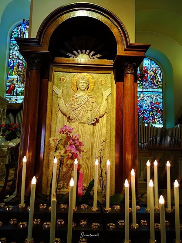 Madonna Orante Basilica di Sant'Ubaldo