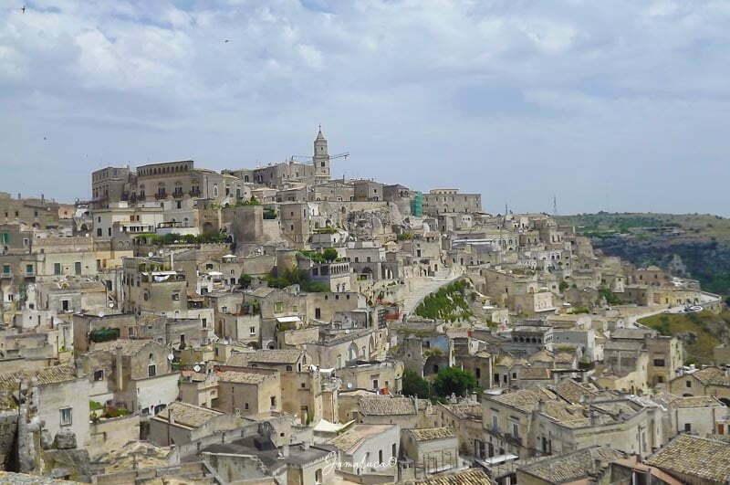 Siti Unesco in Basilicata - Sassi di Matera