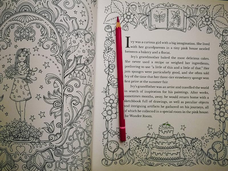 Johanna Basford Ivy and the Inky Butterlfly Libri colorare adulti