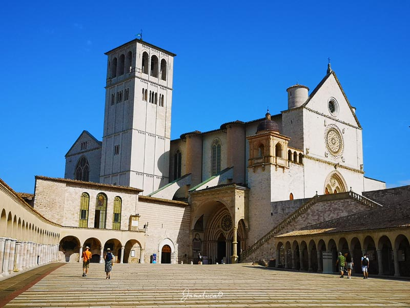 Cosa vedere ad Assisi Basilica di San Francesco