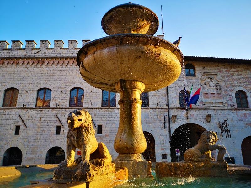 Cosa vedere ad Assisi Piazza del Comune