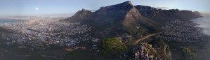 Pano of Cape Town from Lion's Head
